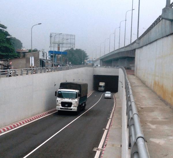 Hầm chui ngã tư Vũng Tàu tuyên đường huyết mạch vận tải bắc nam