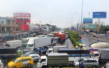 Quốc lộ 22 nối TP HCM với Campuchia được đề xuất mở rộng bằng 9.500 tỷ
