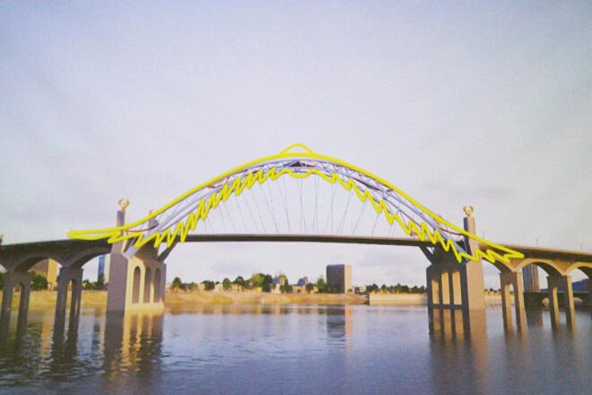 Đà Nẵng lựa chọn cầu vượt qua sông Hàn có tên là Phượng Hoàng