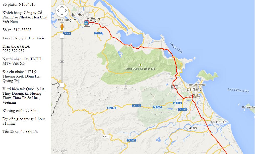 Vận tải hàng hóa đường bộ Nam - Trung - Bắc 2
