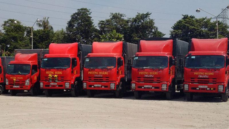Vận chuyển hàng nguyên chuyến đi các quận Hà Nội