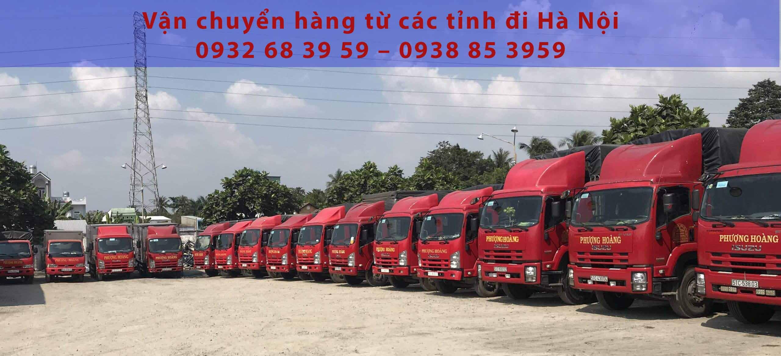 vận chuyển hàng từ các tỉnh đi hà nội
