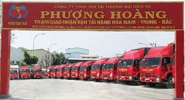 Dịch vụ vận chuyển hàng đi Hà Nội công ty Phượng Hoàng