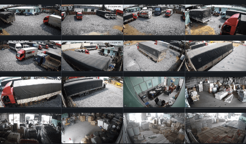 Giám sát hàng hóa 24/24 nhờ hệ thống camera