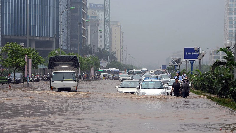 Giải pháp vận chuyển hàng đi Đà Nẵng vào mùa mưa