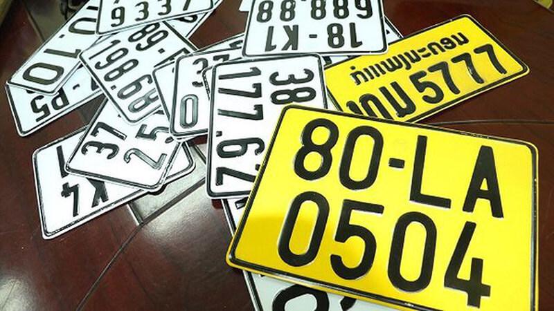 Xe kinh doanh vận tải sẽ bắt đầu sử dụng biển số màu vàng bắt đầu từ 01.08