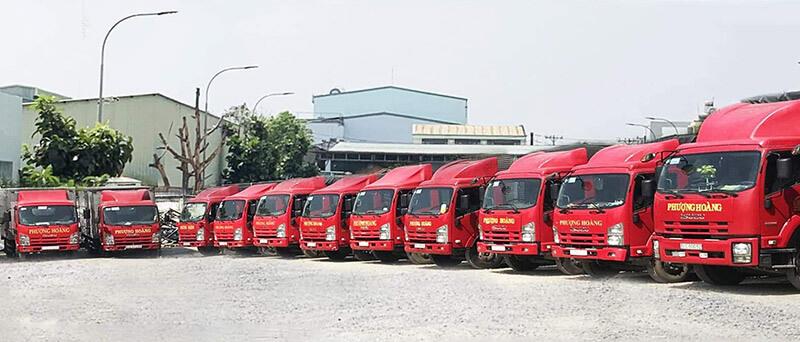 Vận tải Phượng Hoàng nhận vận chuyển hàng lẻ hàng ghép đi Đà Nẵng tiết kiệm chi phí