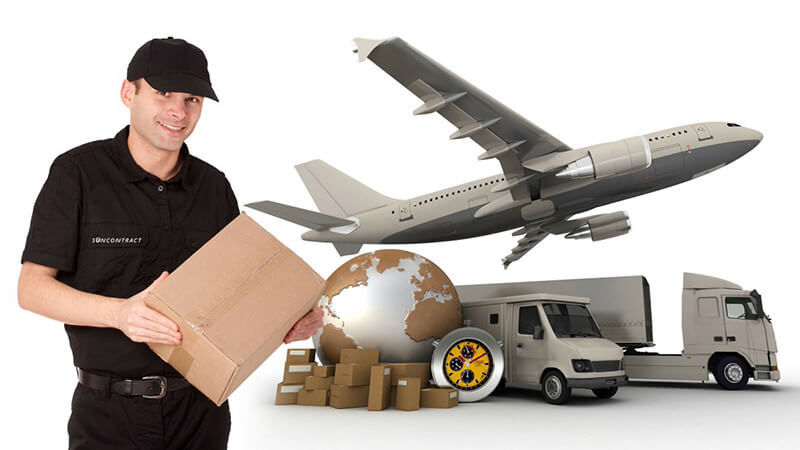 Chuyển phát nhanh hỏa tốc bằng đường hàng không thường áp dụng với hàng có khối lượng, kích thước nhỏ