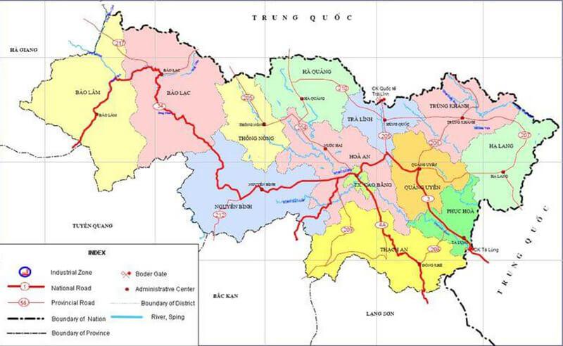 Vận chuyển hàng đi các huyện của Cao Bằng