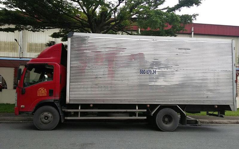 Vận chuyển hàng nguyên chuyến từ TPHCM đi miền Bắc