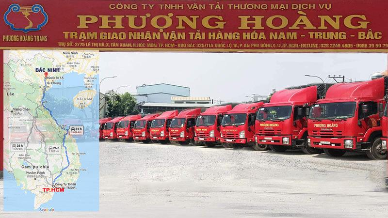 Dịch vụ vận chuyển hàng đi Bắc Ninh