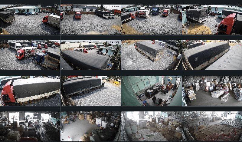 Trang bị camera để giám sát hàng hóa tại kho và quá trình lên xuống hàng để tránh mất mát, hư hỏng