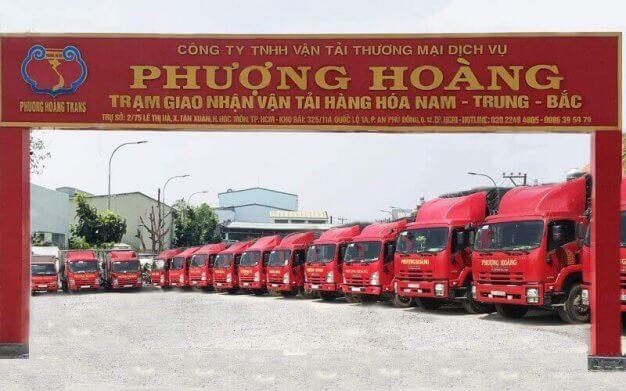 hệ thống xe tải Phượng Hoàng