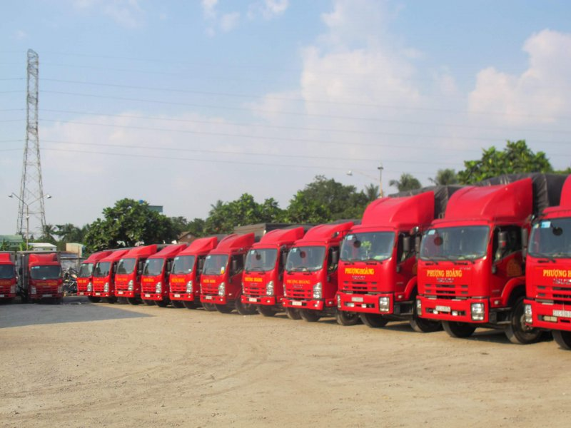 kích thước thùng xe tải