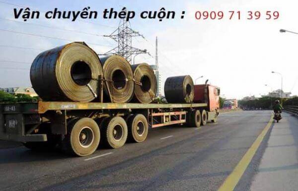 vận chuyển hàng thép cuộn