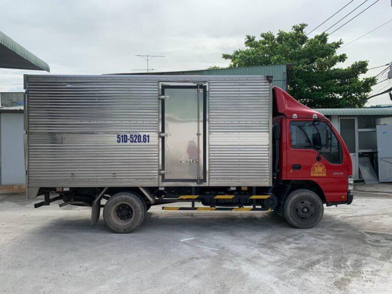 xe tải chuyển hàng hà nội đà nẵng