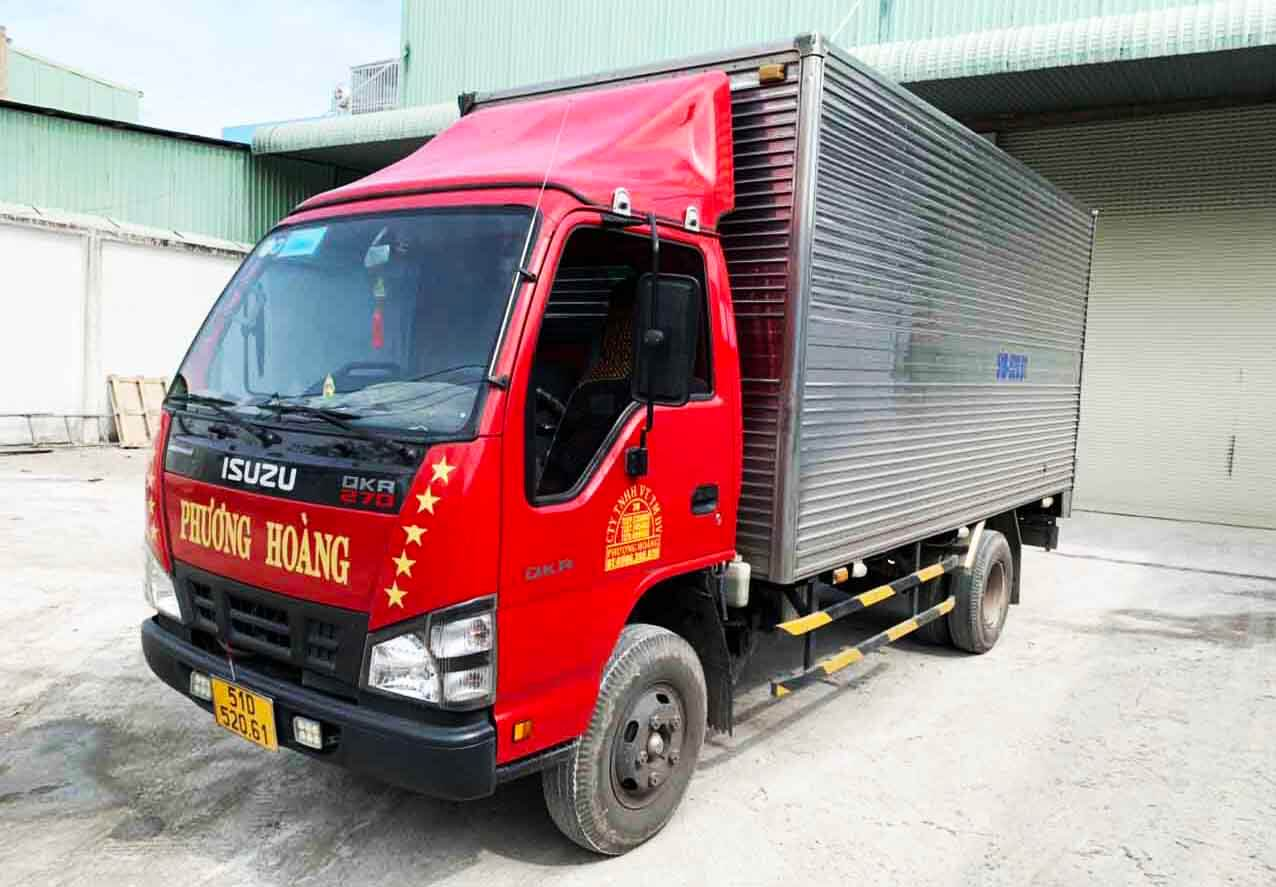 tải trọng xe tải