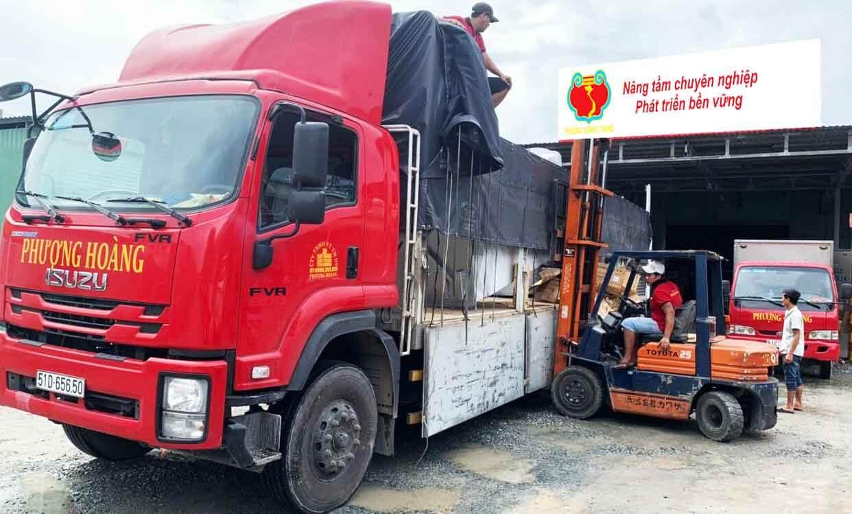 trọng tải xe